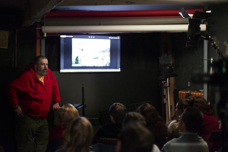 Открытый урок в Школе фотографии OPEN FOTO. Фото: Алекс Логинов