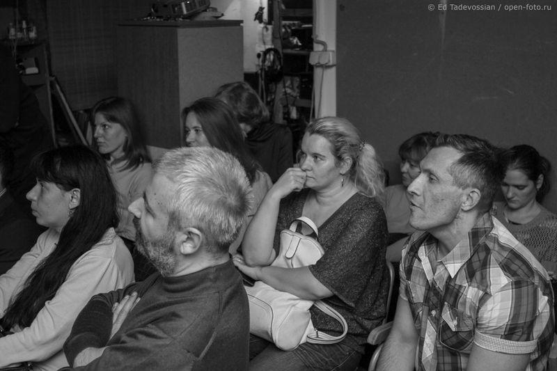 Занятие в Школе фотографии OPEN FOTO. Фото: Эдуард Тадевосян
