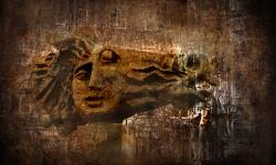 Арбат в стиле гранж. Фото Евгения Колкова