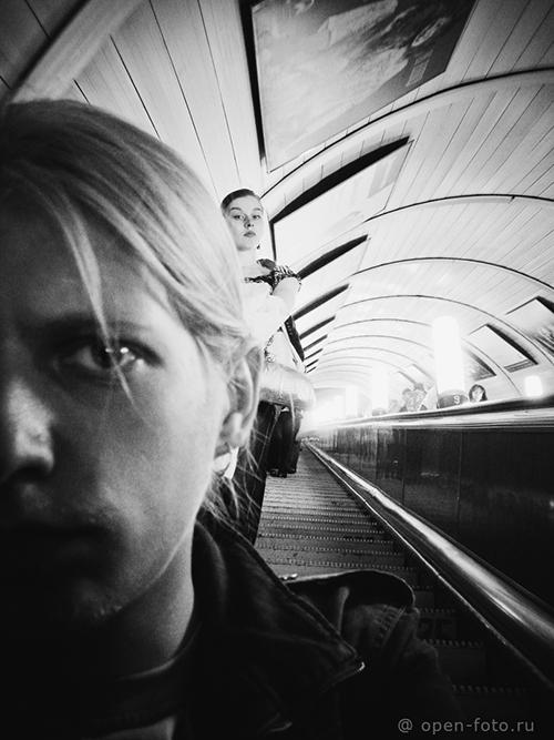 Селфи Александра Гришаенкова, одного из основателей фотошколы OPEN FOTO