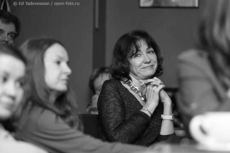 Светлана Краснова на мастер-классе фотошколы OPEN FOTO. Автор фото - Эдуард Тадевосян