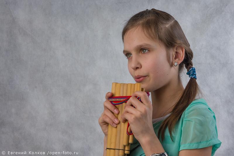 Студийный портрет. Фотограф Евгений Колков