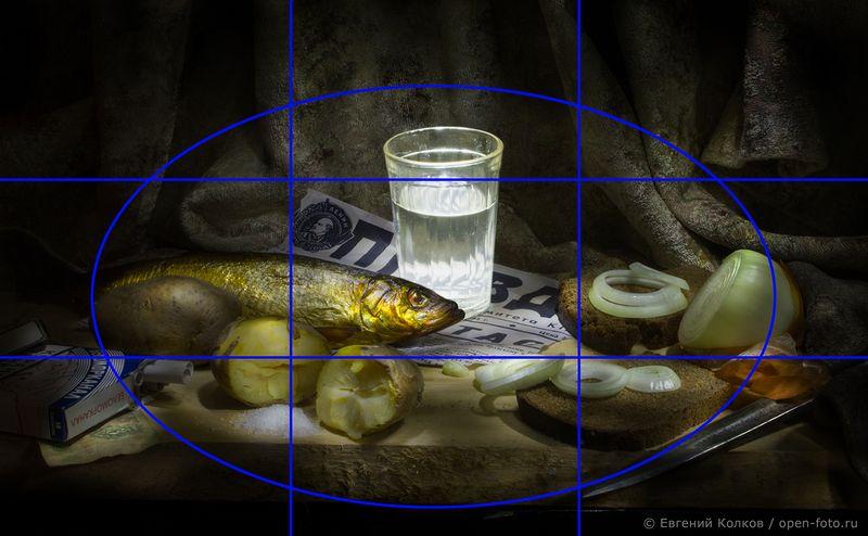 Основы композиции в фотографии. Фото Евгения Колкова