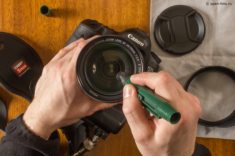 Как проводить чистку объектива - советы Школы фотографии OPEN FOTO