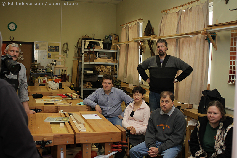 Мастер-класс фотошколы OPEN FOTO по фотосъемке мебели. Автор фото - Эдуард Тадевосян
