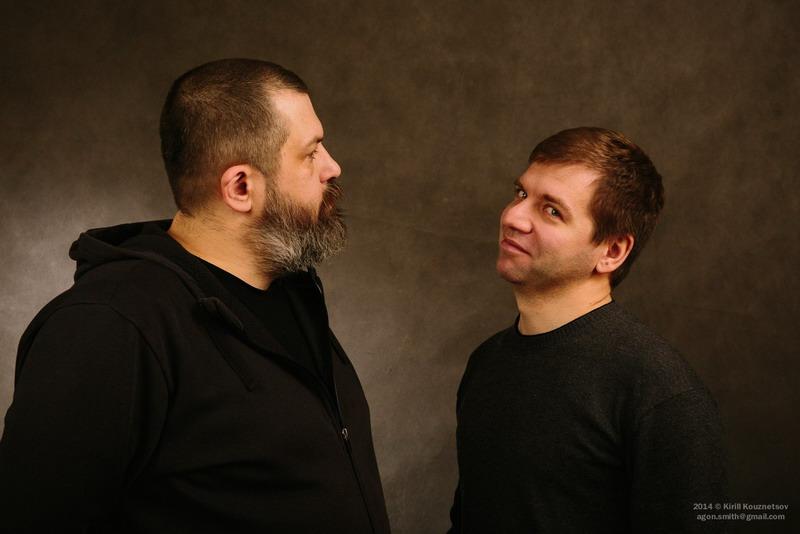Евгений Колков и Андрей Нужин. Автор фото - Кирилл Кузнецов, ученик фотошколы OPEN FOTO