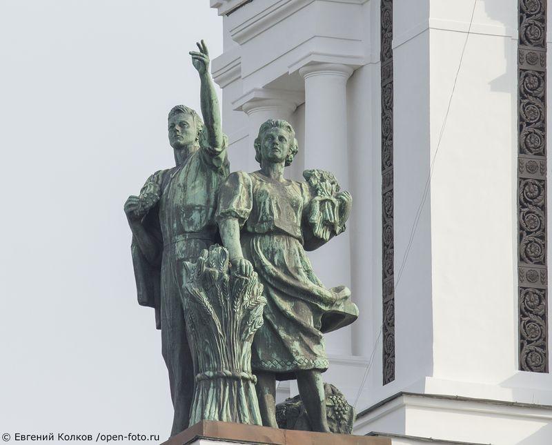 Фотопленэр Школы фотографии OPEN FOTO на ВДНХ