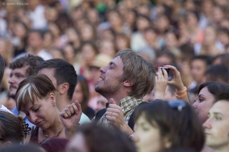 Зрители на концерте Нино Катамадзе. Фото Евгения Колкова