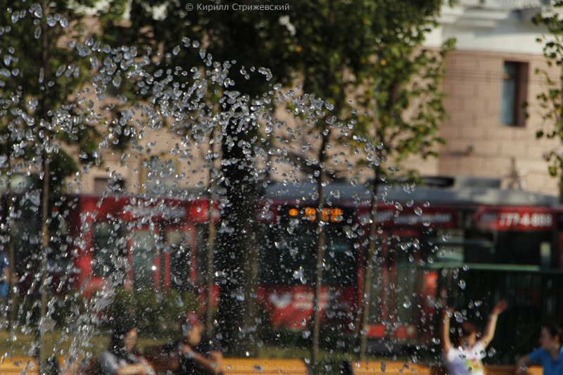 Фотопрогулка по фонтанам. Автор фото - Кирилл Стрижевский