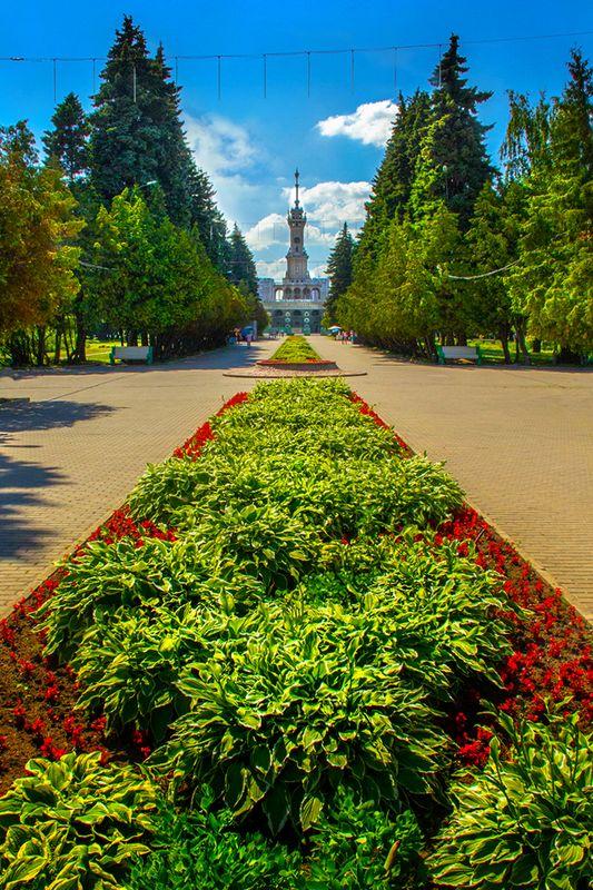 Парк Речного вокзала. 2015 год. Фото: Евгений Колков
