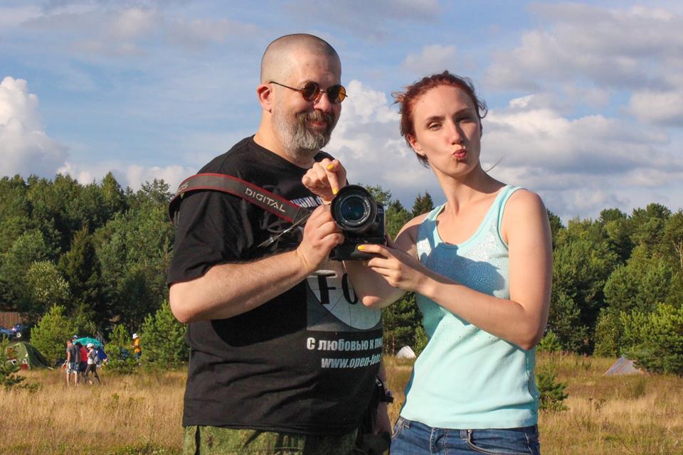 Евгений Колков и Ангелина Лобанова