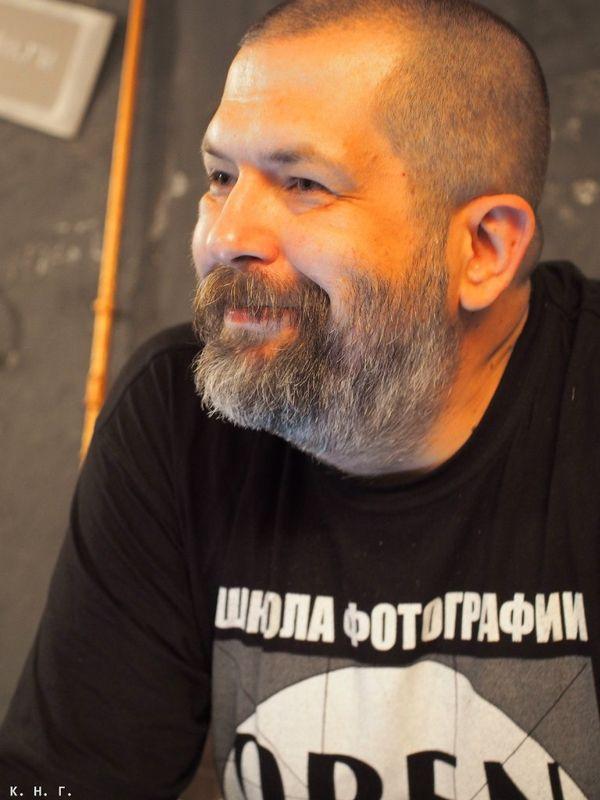Фототренинг OPEN FOTO. Евгений Колков, ведущий фототренинга. Автор фото - Николай Коротков