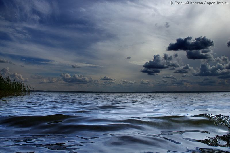 Озеро Плещеево. Автор фото - Евгений Колков