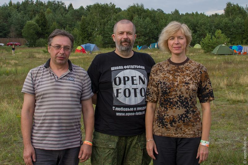 Евгений Колков с Сергеем Турпаком и Еленой Григорович