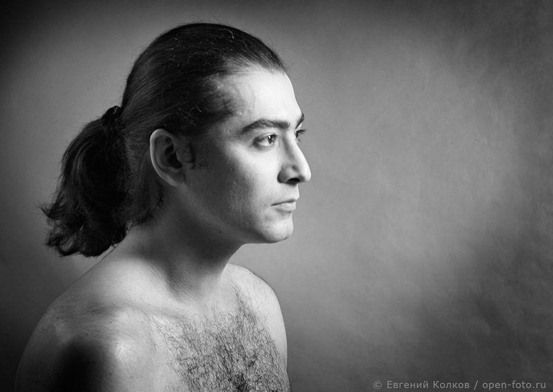 Актер Фархад Махмудов. Автор фото - Евгений Колков