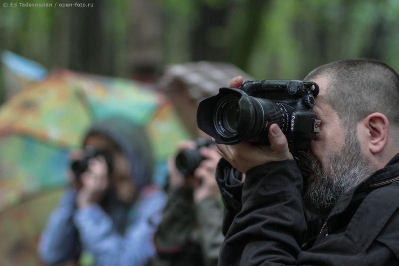 Фотодень в OPEN FOTO. Евгений Колков. Фотограф - Эдуард Тадевосян