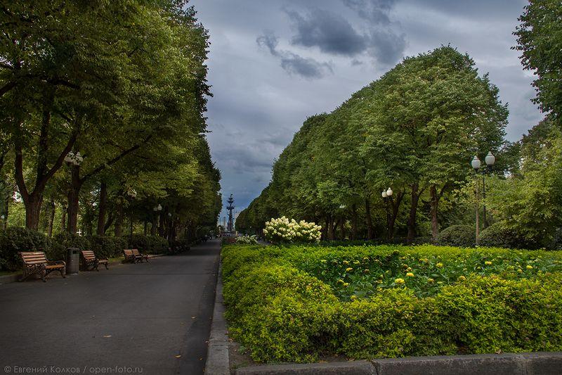 Парк Горького. Автор фото - Евгений Колков