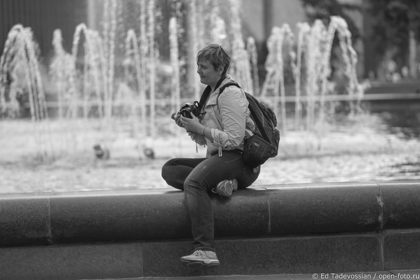 Настя Амплеева. Автор фото - Эдуард Тадевосян