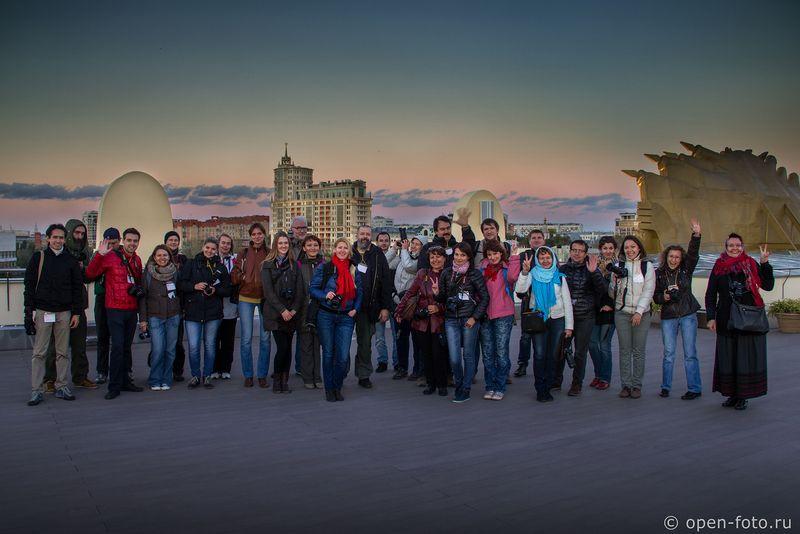 Всемирная фотопрогулка 2015 в Москве. Смотровая площадка Музея Парка Горького