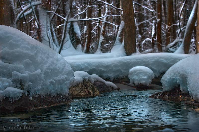 Как фотографировать снег. Фото Евгения Колкова