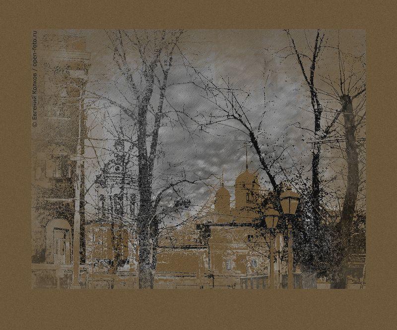 Фотопрогулка OPEN FOTO «Графика московских бульваров». Фото Евгения Колкова