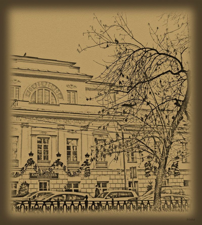 Фотопрогулка OPEN FOTO «Графика московских бульваров». Фото Ирины Задачиной