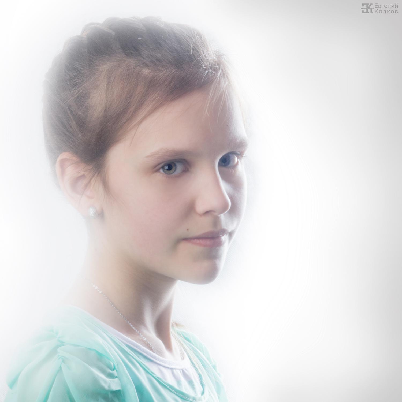Портретная съемка. Фото: Евгений Колков