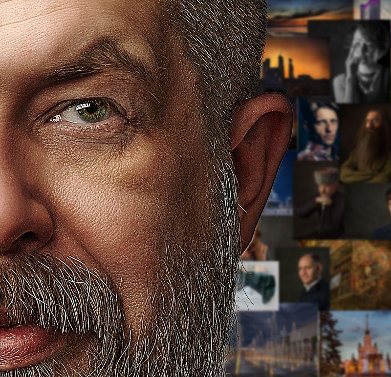 Фотограф Евгений Колков, основатель фотошколы OPEN FOTO. Автопортрет