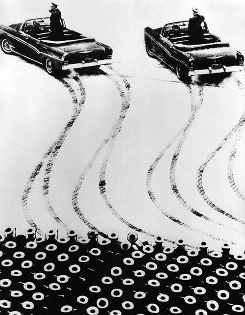 Черно-белая фотография. 1970 год, фотограф Александр Награльян