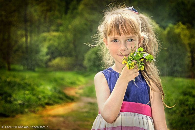 Полина. Фотограф - Евгений Колков