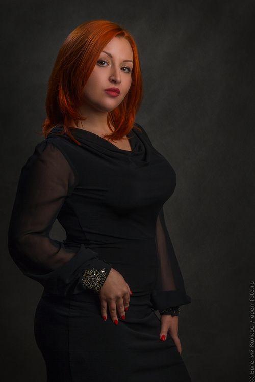 Певица Мария Колосовская. Фотограф Евгений Колков