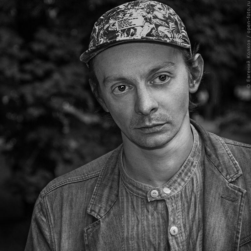 Актер Евгений Кулаков. Фотограф - Евгений Колков