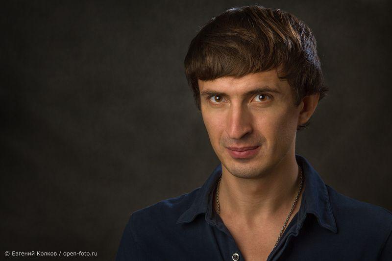 Актер Алексей Гаврилов. Фотограф Евгений Колков