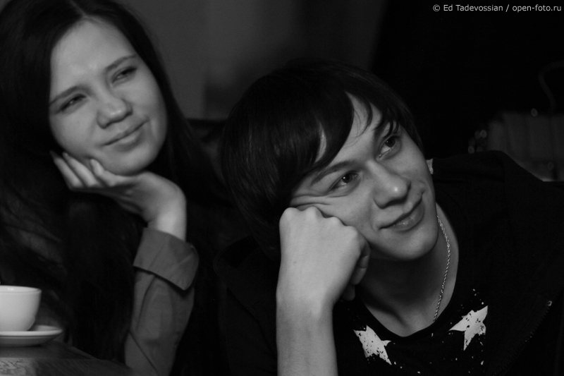 На уроке фотошколы OPEN FOTO. Фото Эдуарда Тадевосяна