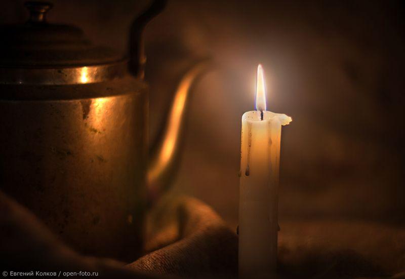 Фотосъемка при свечах. Фотограф - Евгений Колков
