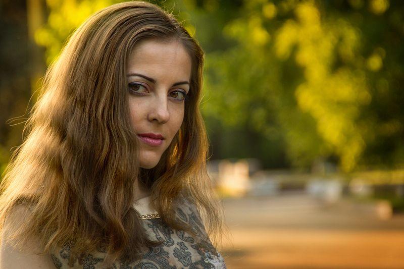 Вера. Фотограф - Евгений Колков