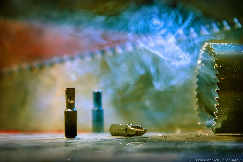 Съемка натюрморта. Фотограф - Евгений Колков