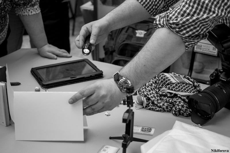На мастер-классе Школы фотографии OPEN FOTO. Фотограф - Екатерина Никифорова