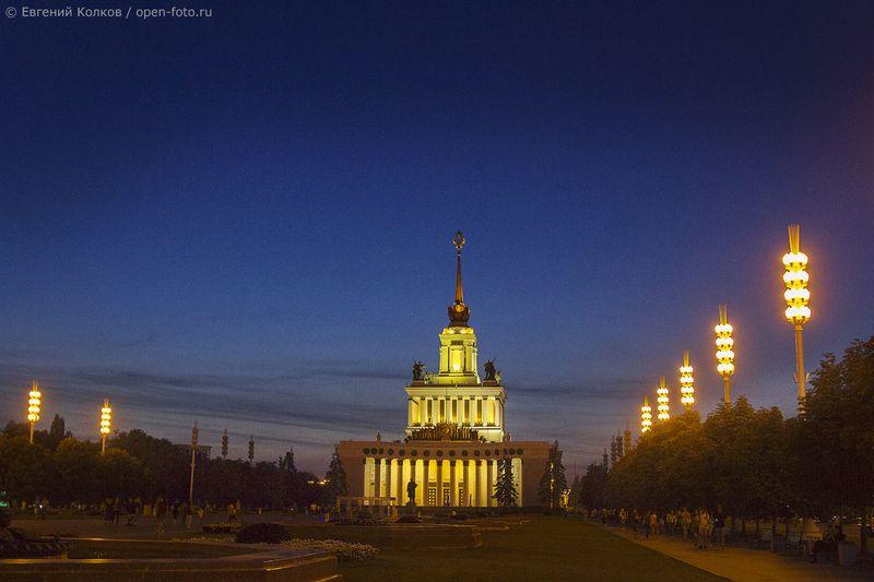 ВДНХ. Фотограф - Евгений Колков