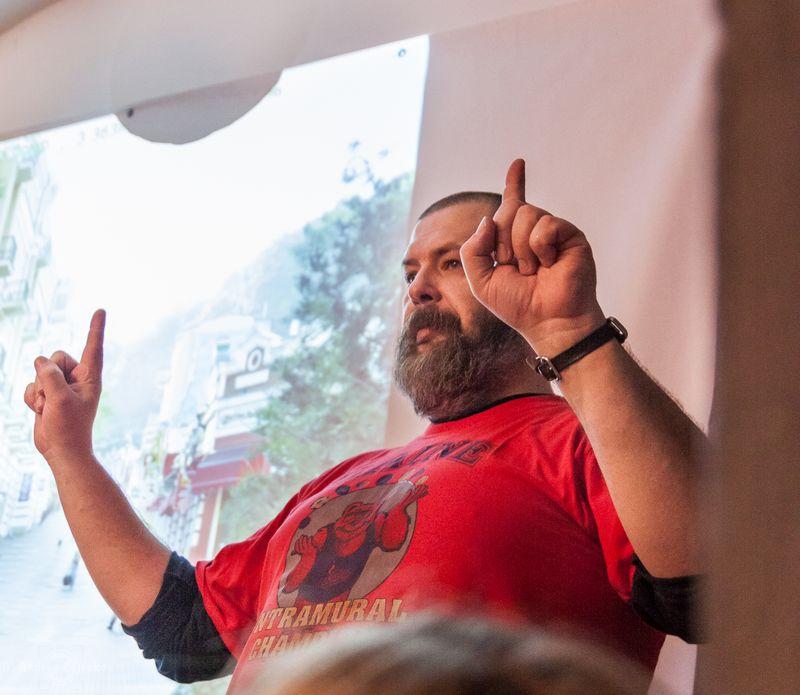 Мастер-класс о фотографии в путешествии. Евгений Колков. Фото Андрея Петракова