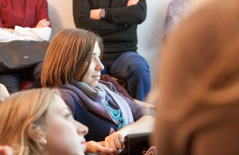 Участники мастер-класса о фотографии в путешествии. Фото Андрея Петракова