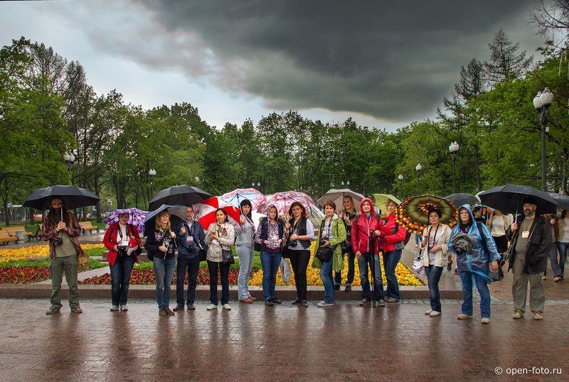 Фонтаны центра Москвы - участники  фотопленэра OPEN FOTO