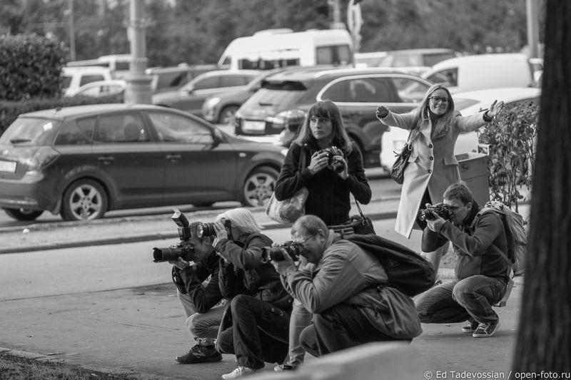 На фотопрогулке Школы фотографии OPEN FOTO. Фото: Эдуаррд Тадевосян