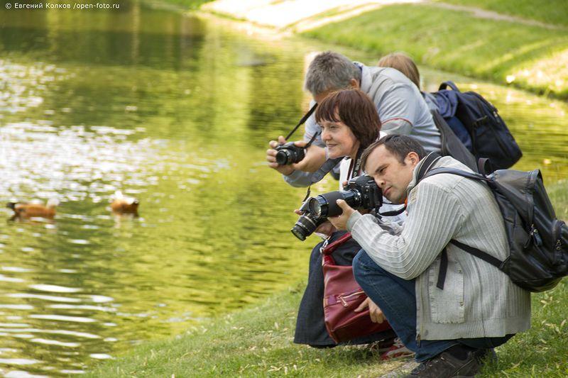 На фотопрогулке Школы фотографии OPEN FOTO. Фото: Евгений Колков