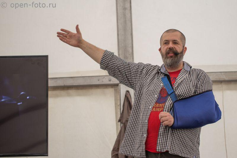 ФотоВыезд 2016. Евгений Колков проводит киновстречу. Фото: Макс Вощанов