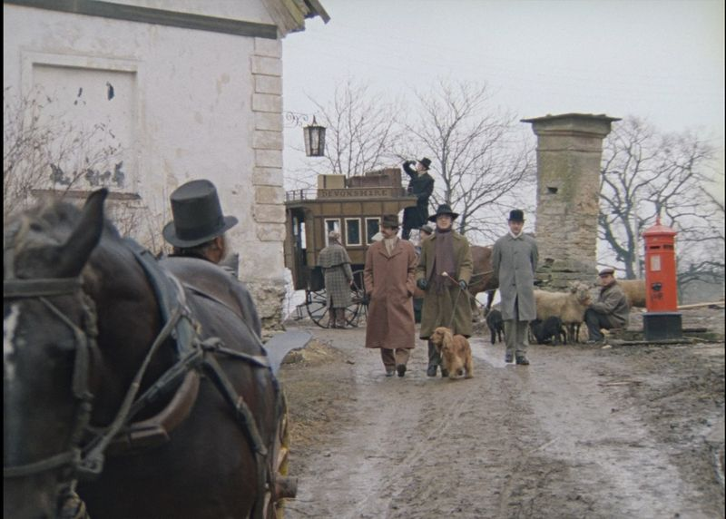 Собака Баскервилей. Кадр из фильма