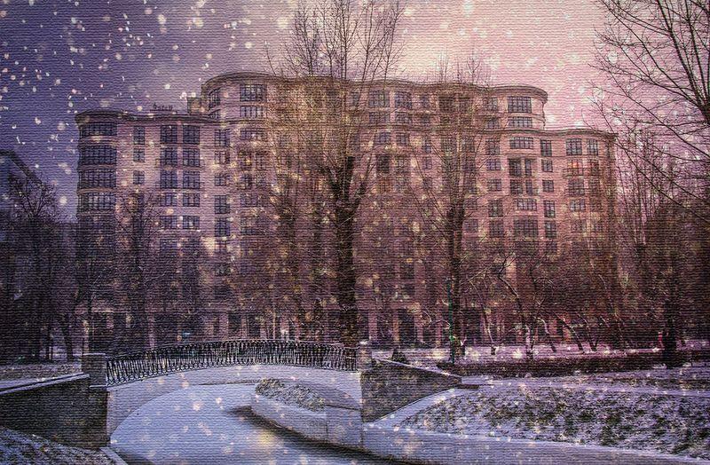 Усадьба Трубецких в Хамовниках. Фотограф - Владимир Оболяев