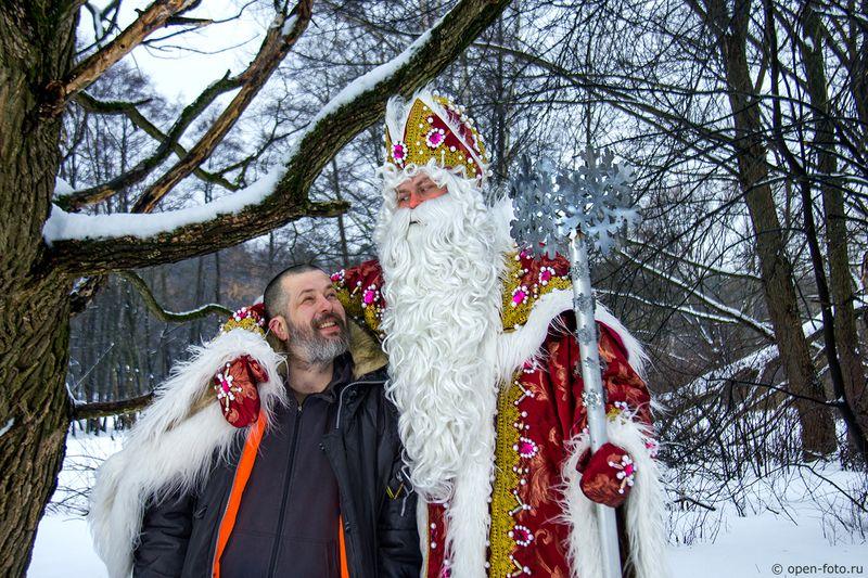 Евгений Колков и Дед Мороз