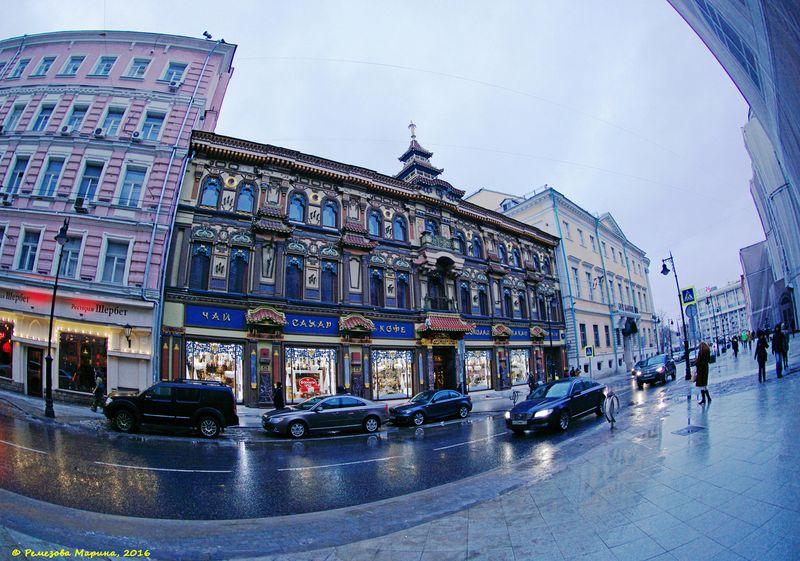 Фотопрогулка OPEN FOTO. Мясницкая улица. Фото: Марина Ремезова