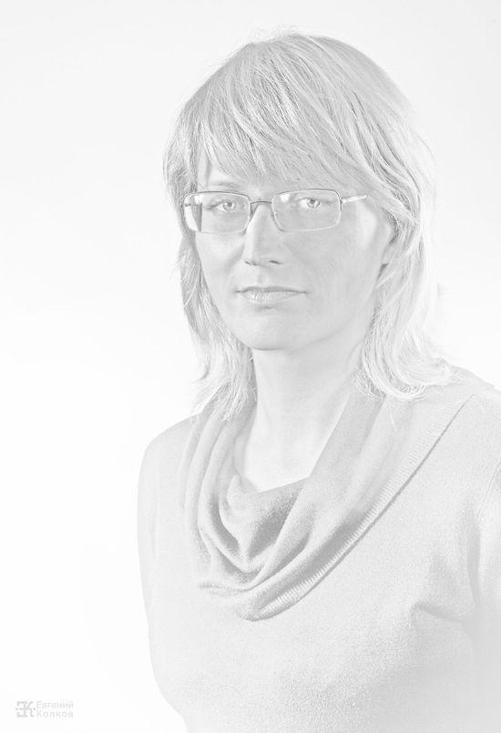 Высокий ключ в портретной съемке. Фото: Евгений Колков